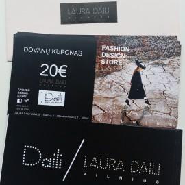 Dovanų Kuponas 20€